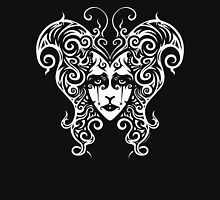 metalMorphosis (alternate white version) Womens Fitted T-Shirt
