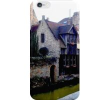 The Canals of Brugge iPhone Case/Skin