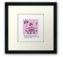 Silly Birthday Framed Print