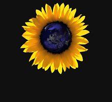 Sunflower Eclipse Earth Sun T-Shirt
