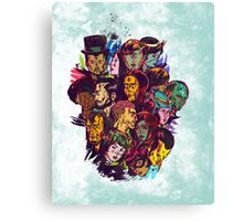 Unnamed Superheroes Canvas Print