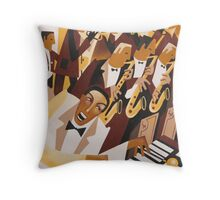 FLYING HOME - DEXTER GORDON WITH LIONEL HAMPTON 1942 Throw Pillow