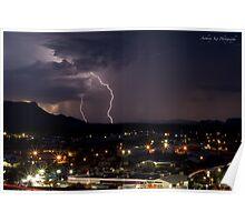 Alice Springs, The Lighting Strike Poster