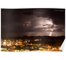 Alice Springs, Lighting Strikes Poster