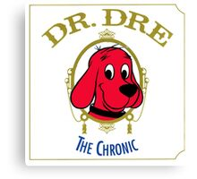 The chronic- Clifford the Big Red Dog Canvas Print