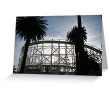 Luna Park Melbourne Victoria Australia Greeting Card