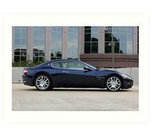 Maserati Gran Turismo - Profile Big Nose Art Print