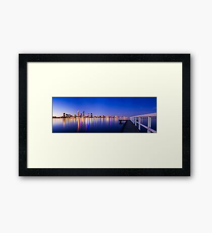 Perth City Framed Print