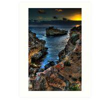 Sunsettones Art Print