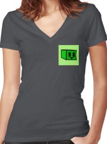 Outside the Square Women's Fitted V-Neck T-Shirt