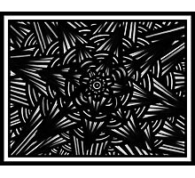 Montag Abstract Expression Black and White Photographic Print