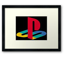 Vintage Playstation Logo Framed Print