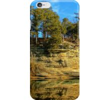 Gar Hole Bluff Line  iPhone Case/Skin