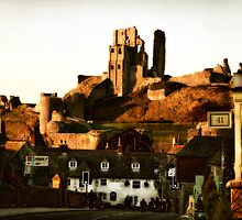 Corfe Village by Polly x