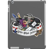 Gamers Without Joysticks (Med tone) iPad Case/Skin