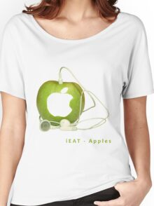 iEat - Apples Women's Relaxed Fit T-Shirt