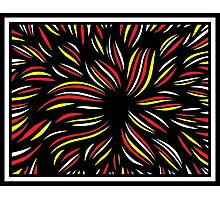 Jurgensen Abstract Expression Yellow Red Photographic Print