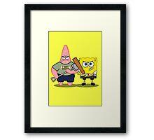 Sponge of the Dead Framed Print