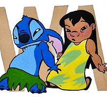 Lilo & Stitch Swag Print by gaumerdesign