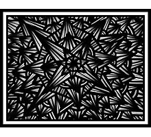 Difilippo Abstract Expression Black and White Photographic Print