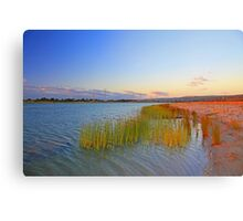 Champion Lake At Sunset  Canvas Print