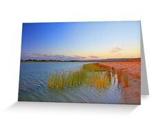 Champion Lake At Sunset  Greeting Card
