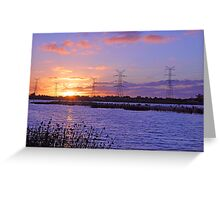 Champion Lake Sunset  Greeting Card