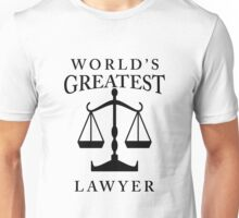 World's Greatest Lawyer Unisex T-Shirt