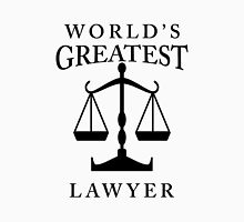World's Greatest Lawyer Unisex T-Shirt