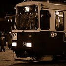 "City Life - ""Night Tram 7A"" by Denis Molodkin"