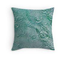 Raindrops Throw Pillow