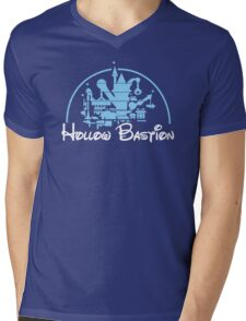 Architecture of a Bastion Mens V-Neck T-Shirt