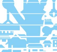 Kingdom Hearts Hollow Bastion Sticker