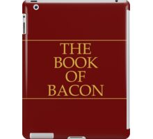 The Book of Bacon iPad Case/Skin