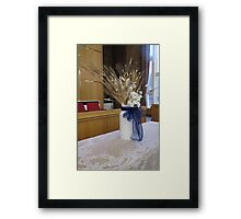 Wedding Table Decoration Framed Print