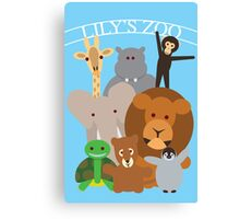 Lily's Zoo Canvas Print