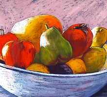 Fruit Bowl by Susie a'Beckett