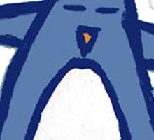 Penguin Ninja Sticker