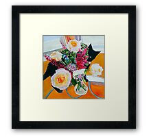Petal Pusher Framed Print