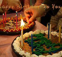 Happy Birthday To You... by Kay  G Larsen