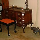 1850 Stinkwood desk by Maree  Clarkson