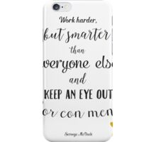 Scrooge McDuck quote iPhone Case/Skin