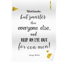 Scrooge McDuck quote Poster