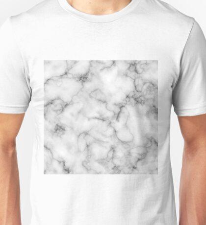 White Marble #redbubble #lifestyle Unisex T-Shirt