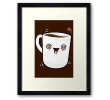 Coffee Buzzed Framed Print