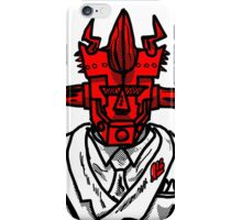 SPACE WRESTLING'S DON SATAN iPhone Case/Skin