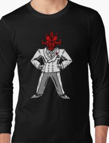 SPACE WRESTLING'S DON SATAN Long Sleeve T-Shirt