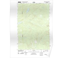 Maine USGS Historical Map Wadleigh Pond 20110906 TM Poster
