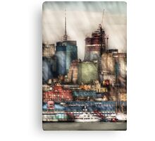 New York Sky Scrapers Canvas Print