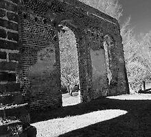 Biggins Church Ruins by Wendy Mogul